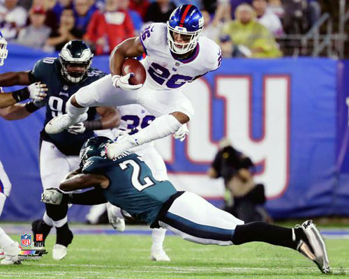 "Saquon Barkley ""Airborn"" (2018) New York Giants Premium Poster Print - Photofile 16x20"
