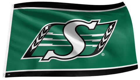Saskatchewan Roughriders CFL Football 3'x5' Official Team Banner FLAG - The Sports Vault