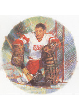 "Terry Sawchuk ""Legend"" Art Print - Canada Post 2001"