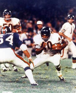 "Gale Sayers ""Good Night"" (1970) Chicago Bears Poster Print - Photofile Inc."