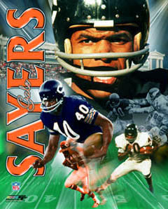 "Gale Sayers ""Legend"" Commemorative Premium Poster Print - Photofile Inc."
