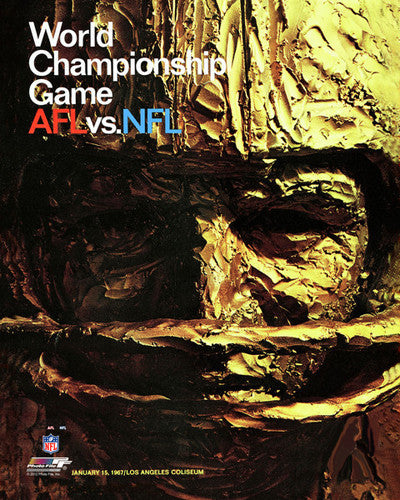 Super Bowl I (1967) Official Event Poster Premium Reprint Edition - Photofile Inc.