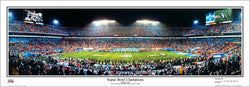 "Super Bowl XLI (Indianapolis Colts vs. Bears 2/4/2007) ""Champions"" Panoramic Poster Print - Everlasting Images"