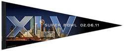 "Super Bowl XLV (Dallas 2011) ""Skyline"" Premium Felt Pennant - Wincraft Inc."