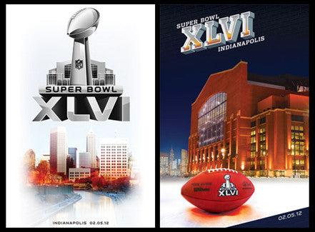 Super Bowl XLVI (Indianapolis 2012) 2-Poster Set - Trends Int'l.