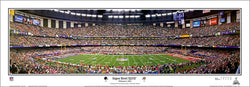 Super Bowl XLVII (Baltimore Ravens 34, 49ers 31) Panoramic Poster Print - Everlasting Images
