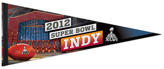 "Super Bowl XLVI (Indianapolis 2012) ""Game Night"" Premium Felt Pennant - Wincraft"
