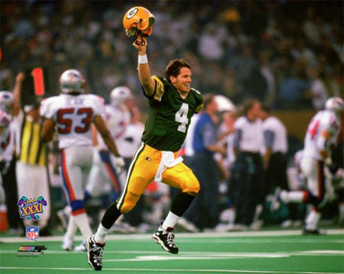 "Brett Favre ""Super Bowl Sensation"" (1997) Green Bay Packers Premium Print  - Photofile"