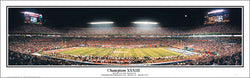 Denver Broncos Super Bowl XXXIII Champions Panoramic Poster Print - Everlasting