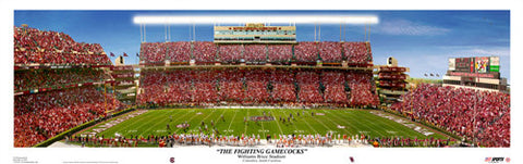 "South Carolina ""The Fighting Gamecocks"" Gameday Panorama - USA 2010"