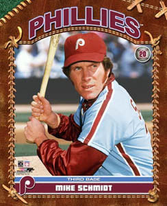 "Mike Schmidt ""Classic Profile"" (c.1974) - Photofile Inc."
