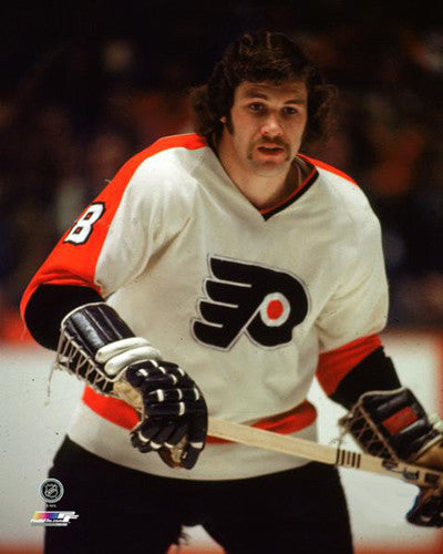 "Dave Schultz ""The Hammer"" (c.1974) Philadelphia Flyers Premium Poster Print - Photofile Inc."