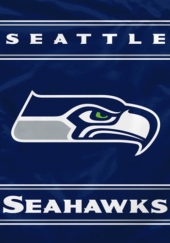 Seattle Seahawks Official Premium 28x40 NFL Team Banner - BSI Products
