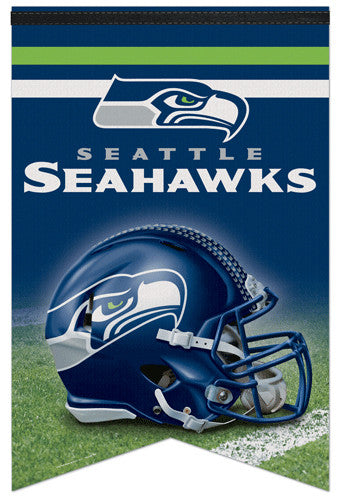 Seattle Seahawks Official NFL Football Premium Felt Banner - Wincraft Inc.