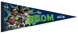 "Seattle Seahawks ""Legion of Boom"" Official Premium Felt Collector's Pennant - Wincraft Inc."
