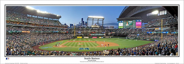 "Safeco Field ""Junior Night"" (2016) Seattle Mariners Panoramic Poster Print - Everlasting Images by Rob Arra"