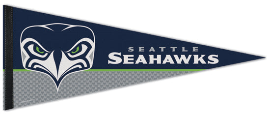 "Seattle Seahawks ""Angry Bird"" Alternate-Logo Official NFL Premium Felt Collector's Pennant - Wincraft Inc."