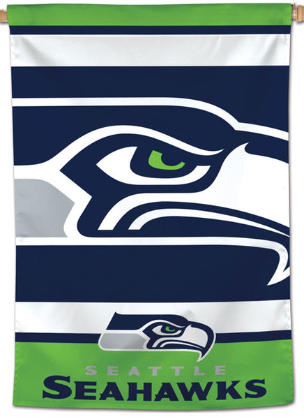 Seattle Seahawks Classic Logo-Style Official NFL Team Logo Wall BANNER - Wincraft Inc.