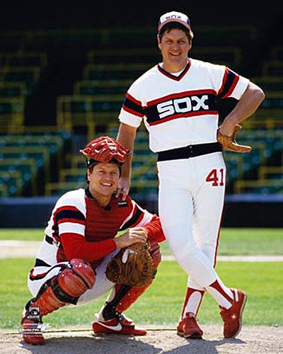 "Tom Seaver and Carlton Fisk ""The Battery"" (1984) Chicago White Sox Premium Poster Print - Photofile"