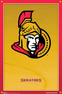 Ottawa Senators New-School Logo Poster - Costacos 2007