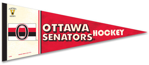 Ottawa Senators NHL Vintage Collection (1917-34) Premium Felt Pennant - Wincraft Inc.