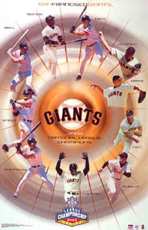 San Francisco Giants 2002 N.L. Champs - Starline Inc.