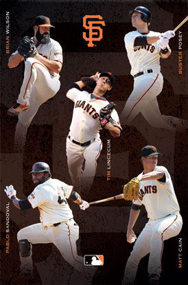 "San Francisco Giants ""Five Stars"" (2012) - Costacos Sports"
