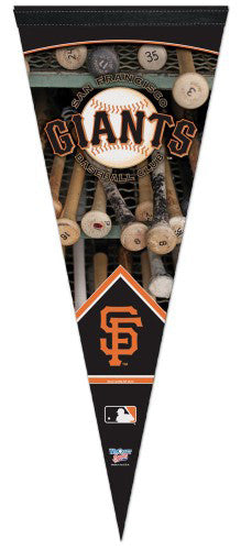 "San Francisco Giants ""Batrack"" Premium Felt Pennant - Wincraft"
