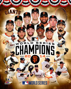 San Francisco Giants 2014 World Series Champions Premium Poster - Photofile 16x20