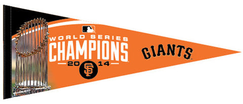 San Francisco Giants 2014 World Series Champions Premium Felt Pennant - Wincraft