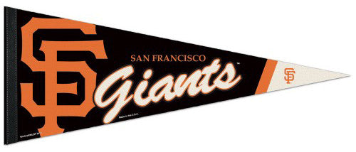 San Francisco Giants Official MLB Baseball Team Logo-Style Premium Felt PENNANT - Wincraft