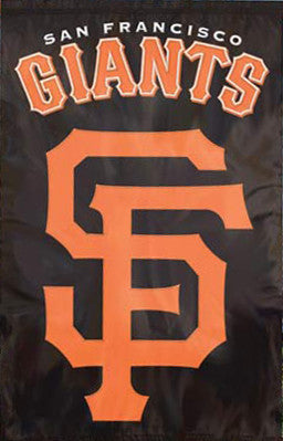San Francisco Giants Official Team Applique Banner - Party Animal