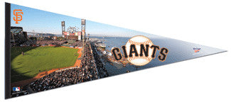 San Francisco Giants AT&T Park Oversized Premium Pennant