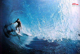 "Surfing ""Inside the Pipeline"" (Sunny Garcia) Poster - No Fear 2000"