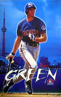 "Shawn Green ""Toronto Blue"" - Costacos 1999"