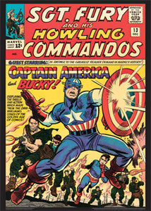 Sgt. Fury and His Howling Commandos #13 (Dec. 1964) Marvel Comics Cover Poster