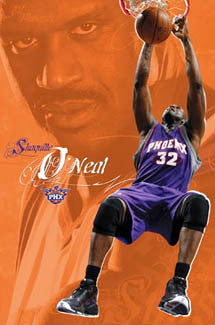 "Shaquille O'Neal ""SunSlam"" Phoenix Suns Poster - Costacos 2008"