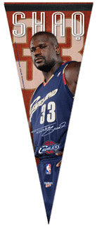 "Shaquille O'Neal ""Welcome to Cleveland"" Premium Pennant (L.E. /2,009)"
