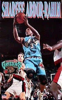 "Shareef Abdur-Rahim ""Action"" - Starline Inc. 1997"