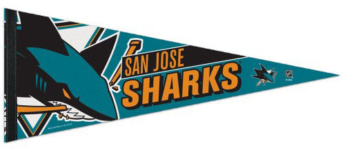 San Jose Sharks Official NHL Hockey Premium Felt Pennant - Wincraft Inc.