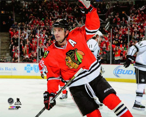 "Patrick Sharp ""Goal!"" Chicago Blackhawks Premium Poster Print - Photofile 16x20"