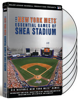 "DVD Set: ""Essential Games of Shea"" (6 Game Broadcasts)"