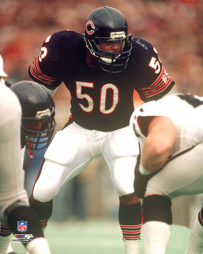 "Mike Singletary ""Classic"" Chicago Bears c.1985 Premium Poster Print - Photofile Inc."