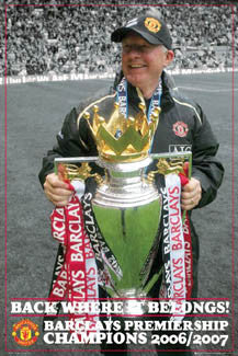 "Sir Alex Ferguson ""Celebration '07"" - GB Posters Inc."