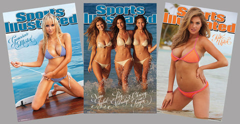 SI Sports Illustrated Swimsuit Models 2014 Official Three-Poster Set - Trends