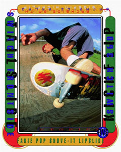"Skateboarding ""Attitude"" Motivational Poster - Front Line"