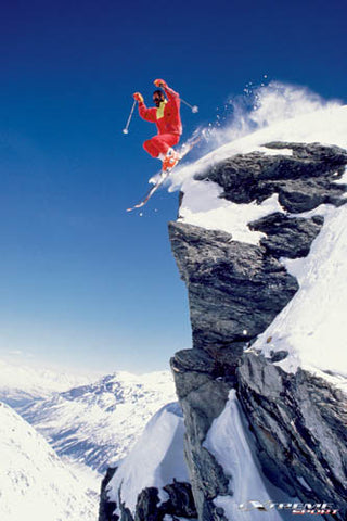 """Extreme Sport"" Skiing - Eurographics Giclee 2007"