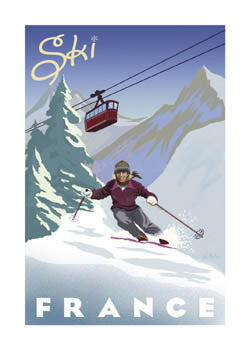 Ski France - Bruce McGaw Graphics 2007