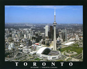 "Toronto Skydome ""From Above"" - Aerial Views 1995"