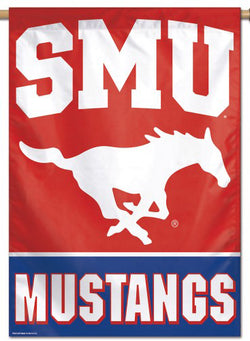 Southern Methodist University SMU Mustangs Official NCAA Premium 28x40 Wall Banner - Wincraft Inc.